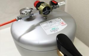 加圧重合器